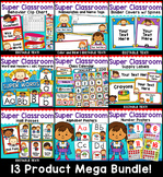 Superhero Theme Classroom Decor Mega Bundle