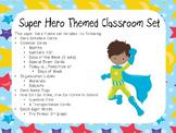 Super Hero Theme Classroom Display