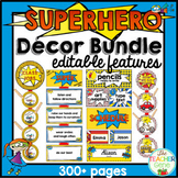 Super Hero Theme Decor {Back to School Classroom Decor Bundle}