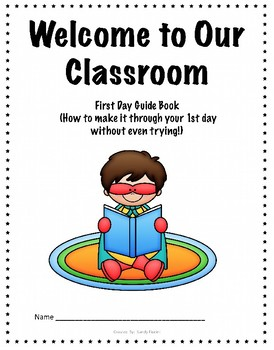 Super Hero Theme First Day Guide book