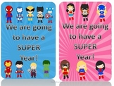 Super Hero Theme Goody Bags