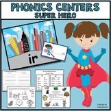 Phonics Centers - Super Hero Theme