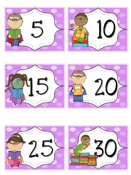 Reading Points by 5s Super Hero Theme