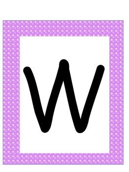 Word Wall Letters and Alphabet Heading Super Hero Theme