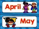 Super Hero Themed Calendar Cards {Morning Math} Number Corner