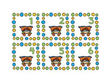 Super Hero Themed Calendar Cards {Morning Math} Number Corner