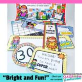 Super Hero Decor: Super Hero Themed Classroom
