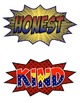 Super Hero Themed Classroom Decorations - Super Character Action Words