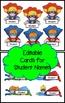 Superhero Themed Classroom Jobs - EDITABLE
