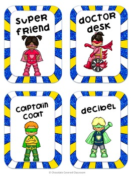 Super Hero Themed Classroom Jobs to Encourage Leadership and Responsibility