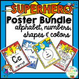 Superhero Classroom Posters Bundle