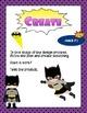 Super Hero Themed - Engineering Design Process Poster Set