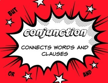 Super Hero Themed Parts of Speech Posters (FREE)