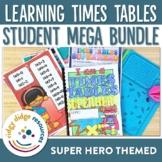 Super Hero Themed Times Tables Workbook MEGA Bundle