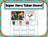 Super Hero 10 Token Board
