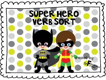 Super Hero Verbs