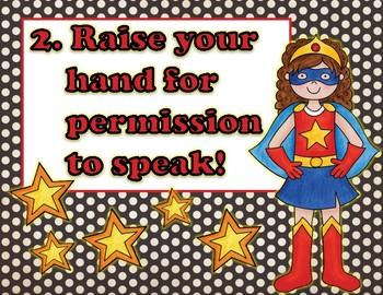 Super Hero Whole Brain Posters