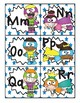 Super Hero Word Wall Letter Header Cards