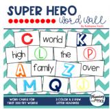 Super Hero Word Wall