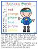 Super Hero Word Work
