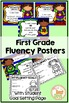 Superhero / Super Hero Words Per Minute 1st Grade Posters