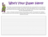 Super Hero Writing