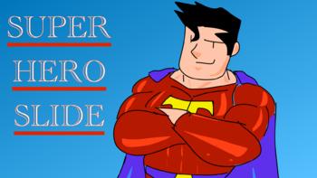 Animated Super Hero Intro for Keynotes