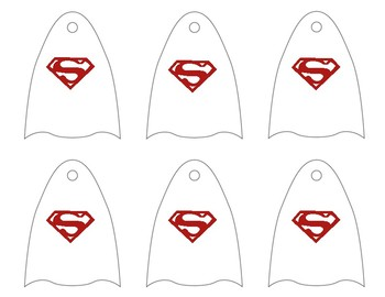 Super Hero (blank) Capes