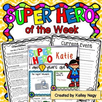 Super Hero of the Week