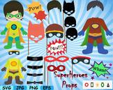 Super Hero props Clip Art school halloween decor costume b