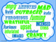 Super Hero themed Character Traits Synonym Posters