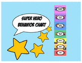 Super HeroTheme : Behavior Chart