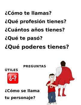 Super Heroe Spanish