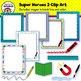 Super Heroes 2 Clip Art