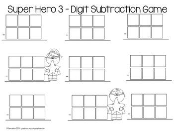 Super Heroes 3-Digit Games