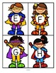 Superheroes Alphabet Matching Upper Lower Case Center