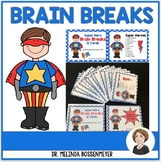 Super Heroes Brain Break Cards
