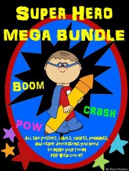 Super Hero Mega Bundle