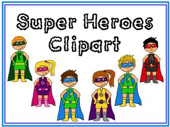 Super Heroes Clipart