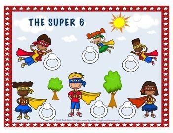 Super Heroes Cooperative Game