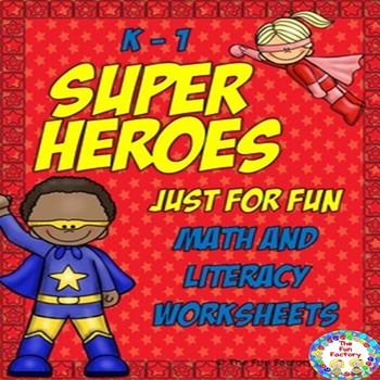 No Prep Math and Literacy {Kindergarten and First Grades}