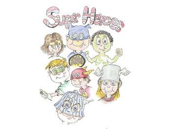 Super Heroes (Kids Dressed As)