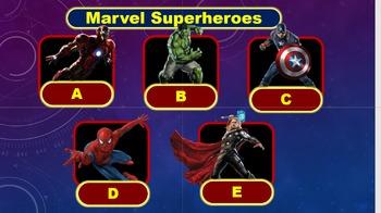 Super Heroes Quiz