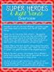 Super Heroes & Sight Words-A Zeno Sight Word Unit