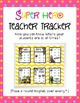 Super Hero Teacher Tracker: A Superhero Themed Classroom Management Tool