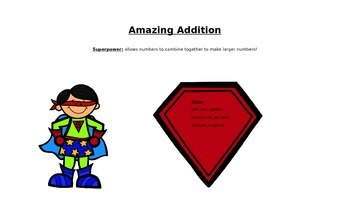 Super Heroes of Math (Basic Operations Vocabulary)