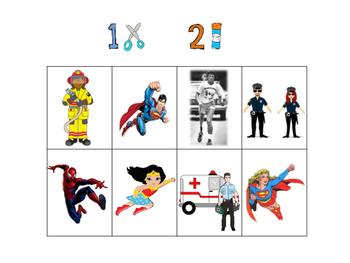 Superheroes vs. Heroes - Community Helpers and Terry Fox Resource