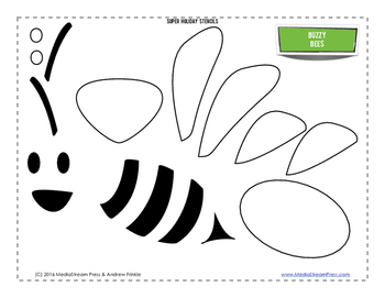 Super Holiday Stencils - Spring Edition - 8 fun designs