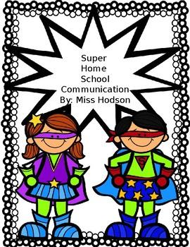 Super Home Communication Binder