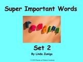 Super Important Words Set 2